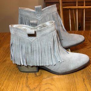 Restricted Fringe Boots